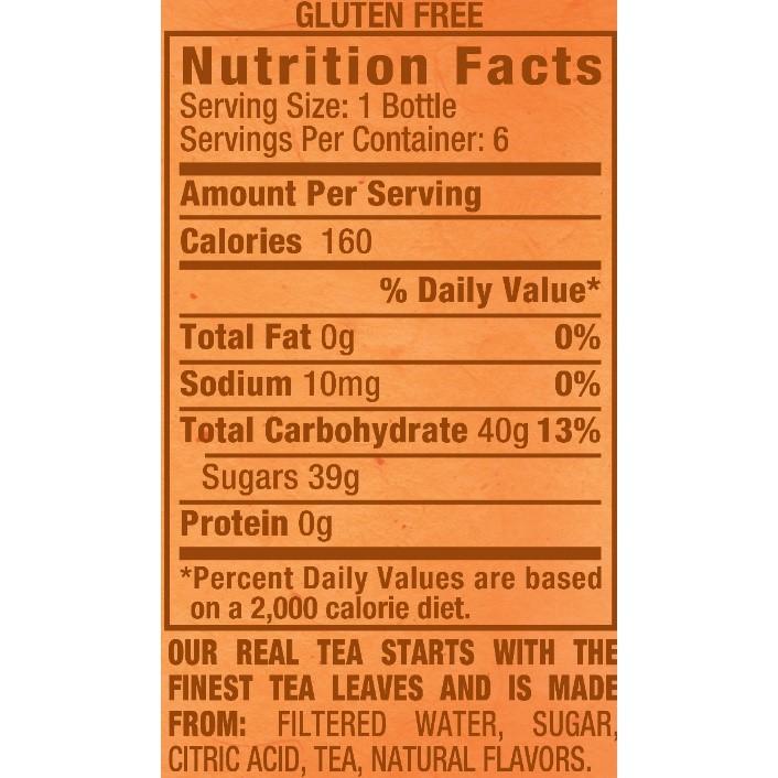 Image result for snapple ingredients label